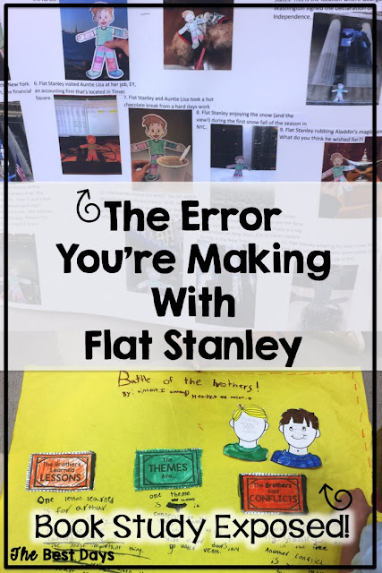 Are you wondering what errors you made with Flat Stanley.  Read how to get more out of it!