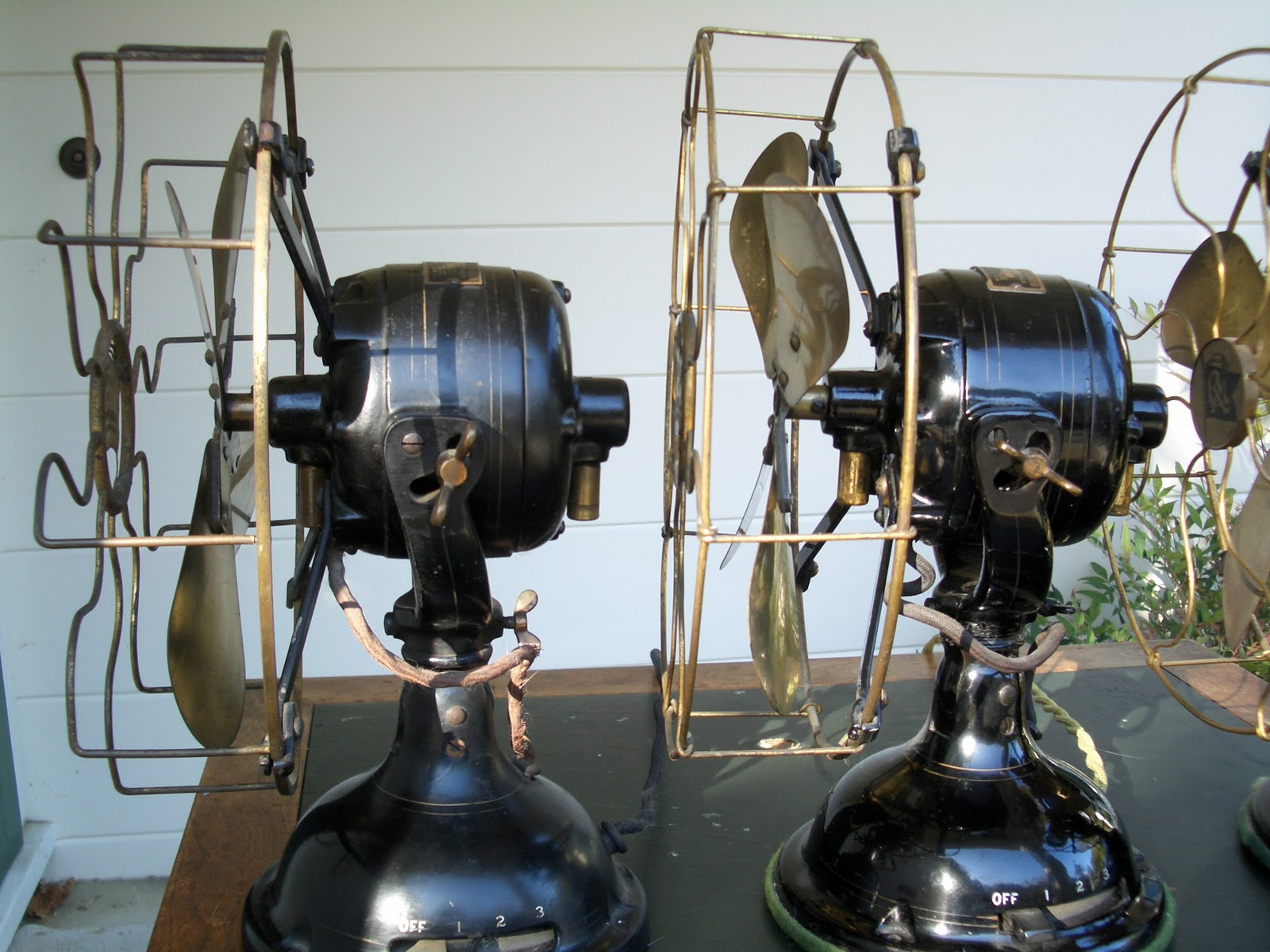 early electric fans robbins  u0026 myers list 1404 desk fans regal wiring diagram