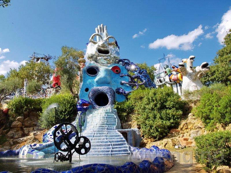 Il giardino dei tarocchi meraviglia sconosciuta - Il giardino dei tarocchi ...