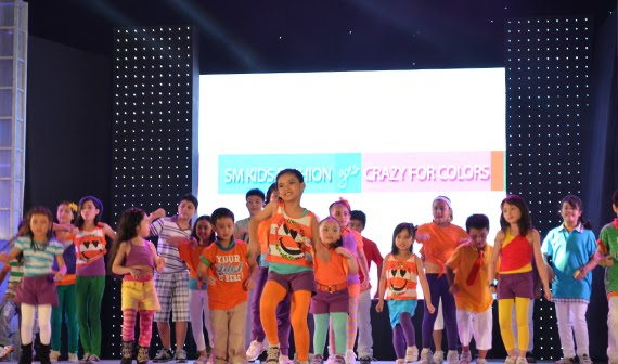 SM Kids' Fashion: Crazy for Colors Summer Dance Party