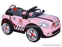 Mobil Mainan Aki DoesToys DT871 Mini Sport 16