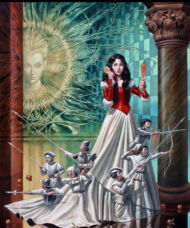 05-Michael-Cheval-The-Mirror-Asylum-Surreal-Absurdist-Paintings-www-designstack-co
