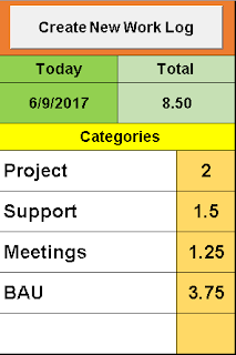 Daily Work Log