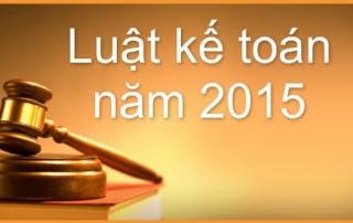 Những điểm mới của Luật Kế toán năm 2015