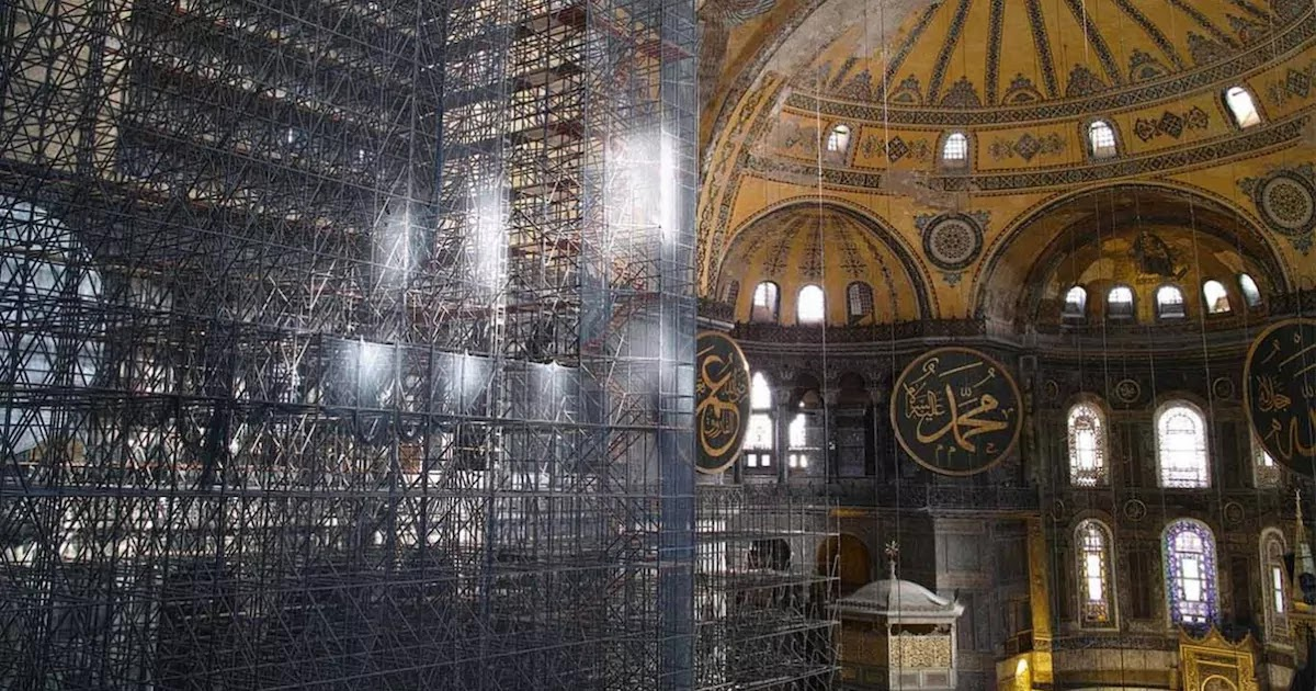 Russia And Syria To Build Hagia Sophia Replica To Show Solidarity And Peace Between Religions After Erdogan's Bold Move Turning The UNESCO World Heritage Site Back Into A Mosque