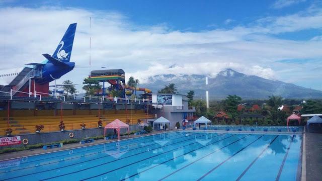 Kolam Renang Standart Olimpiade Saygon Waterpark Pasuruan