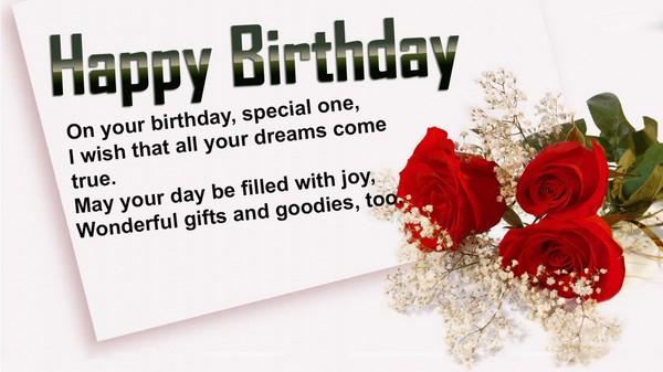 Happy Birthday Words Images