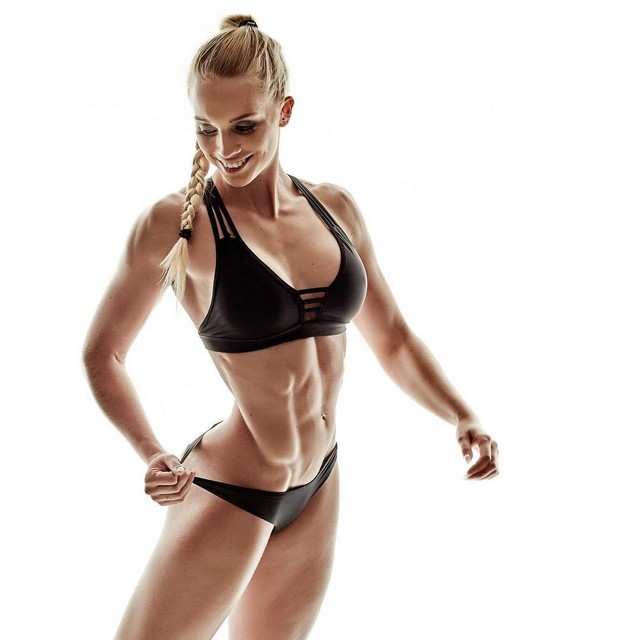 Josefine Achen is a bikini fitness athlete