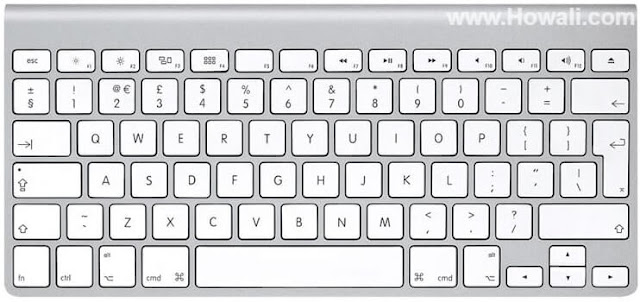 Mac keyboard shortcut and symbols