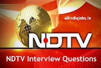 NDTV Interview Questions