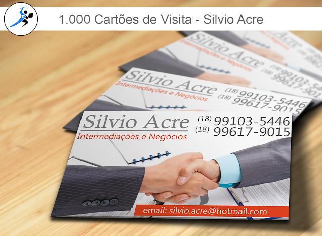Cartões Silvio Acre
