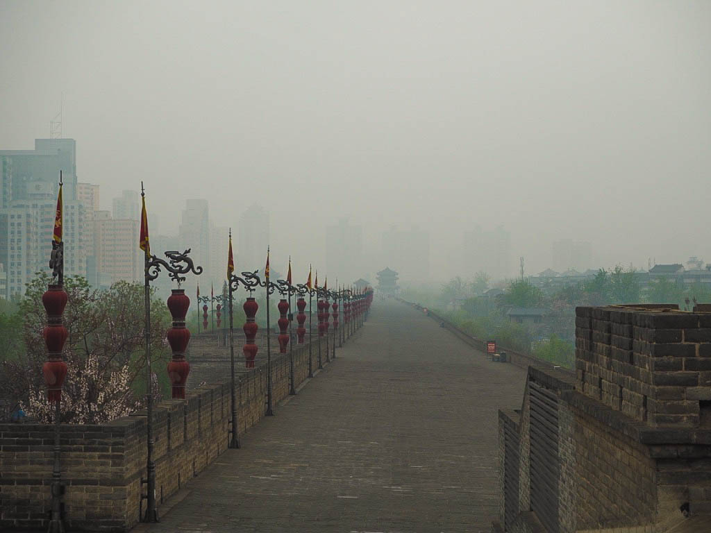 Xi'an City Walls in China