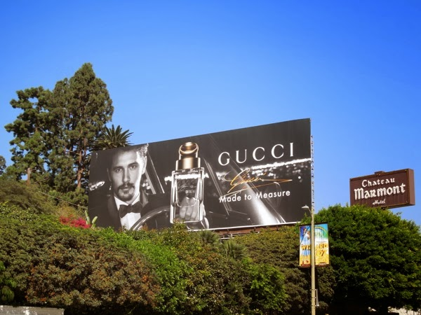 Gucci Made to Measure fragrance billboard