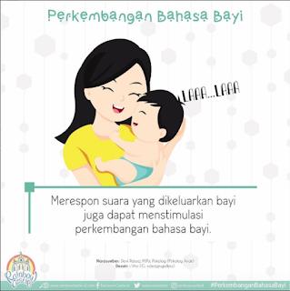 Respon Suara yang Keluar dari Mulut Bayi