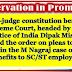 Supreme Court reserves order on pleas to review verdict on quota benefits to SC/ST employees