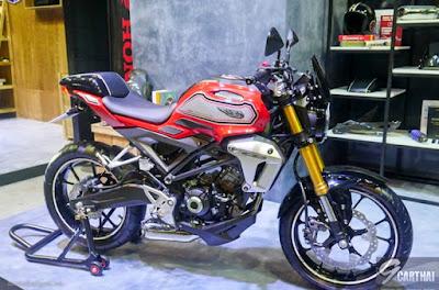 Honda CB150R Exmotion Warna Merah