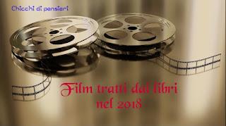 Film tratti dai libri in uscita nel 2018