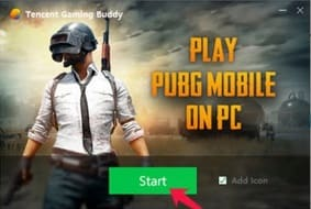 Choose a PUBG game
