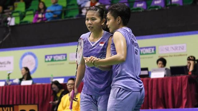 Bareng Apriyani, Greysia Bertekad Raih Emas Asian Games Lagi