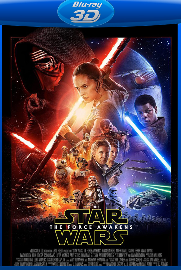 Star Wars: O Despertar da Força BluRay Rip 1080p Torrent 3D Dublado