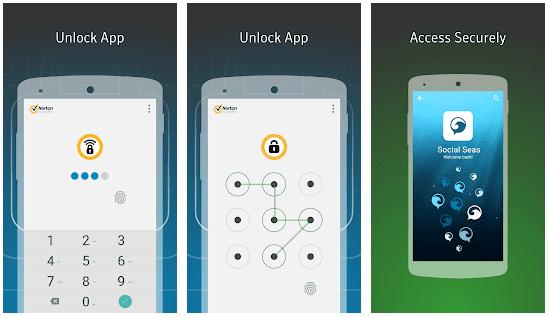 "Norton App Lock - ""Κλειδώστε"" εφαρμογές του κινητού σας"
