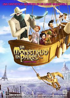 Un monstruo en París (2011) Online