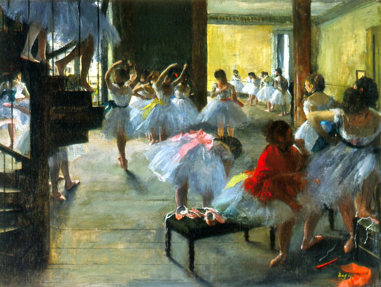 Escola de Dança - Edgar Degas e suas principais pinturas ~ O Pintor de Bailarinas