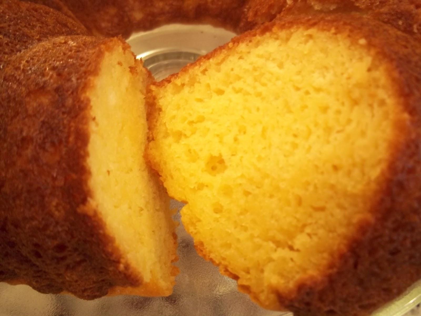 Olive Oil Pound Cake Recipe