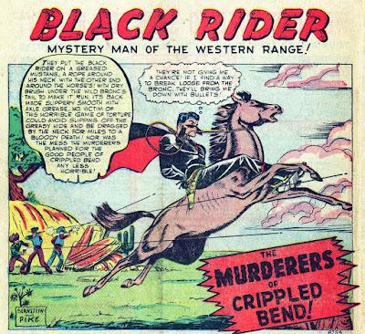 Wild Western 18 Murderers of Crippled Bend--'Bernstein and Pike