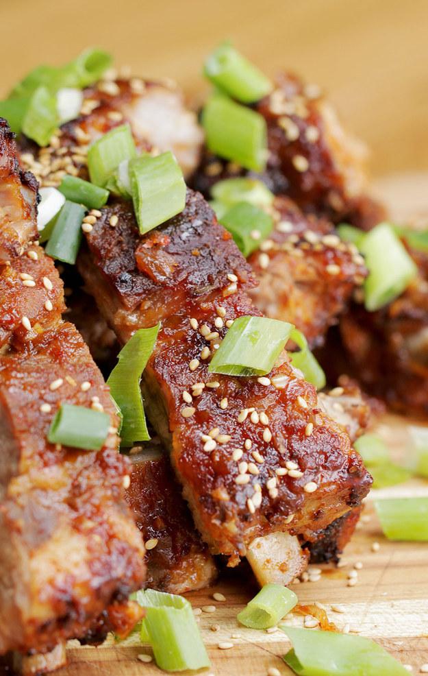 Korean-Style Ribs #Recipe