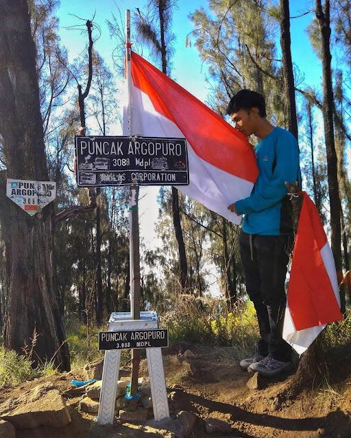 puncak gunung argopuro
