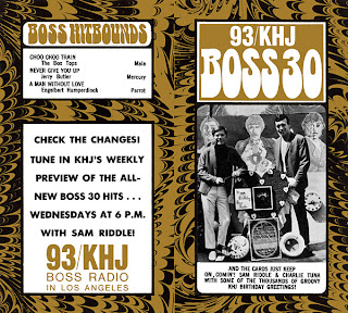 KHJ Boss 30 No. 150 - Charlie Tuna and Sam Riddle