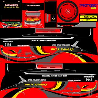 Download Livery Bus Duta Bangsa