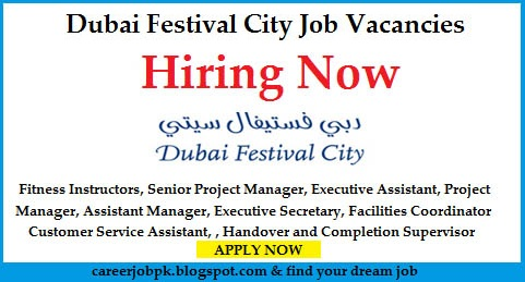 Latest jobs in Dubai Festival City