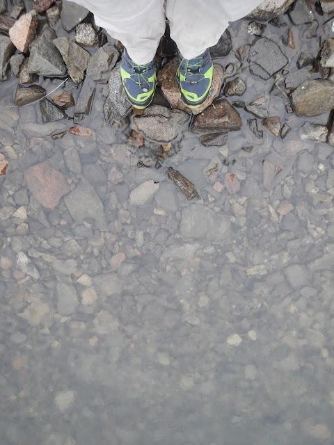вода, кроссовки Adidas Outdoor