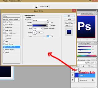 cara mmbuat logo photohopcs3