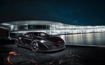 Wallpaper: McLaren MSO 650S Coupe Concept