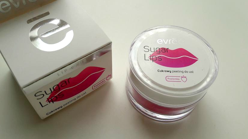 EVREE SUGAR LIPS, CUKROWY PEELING DO UST
