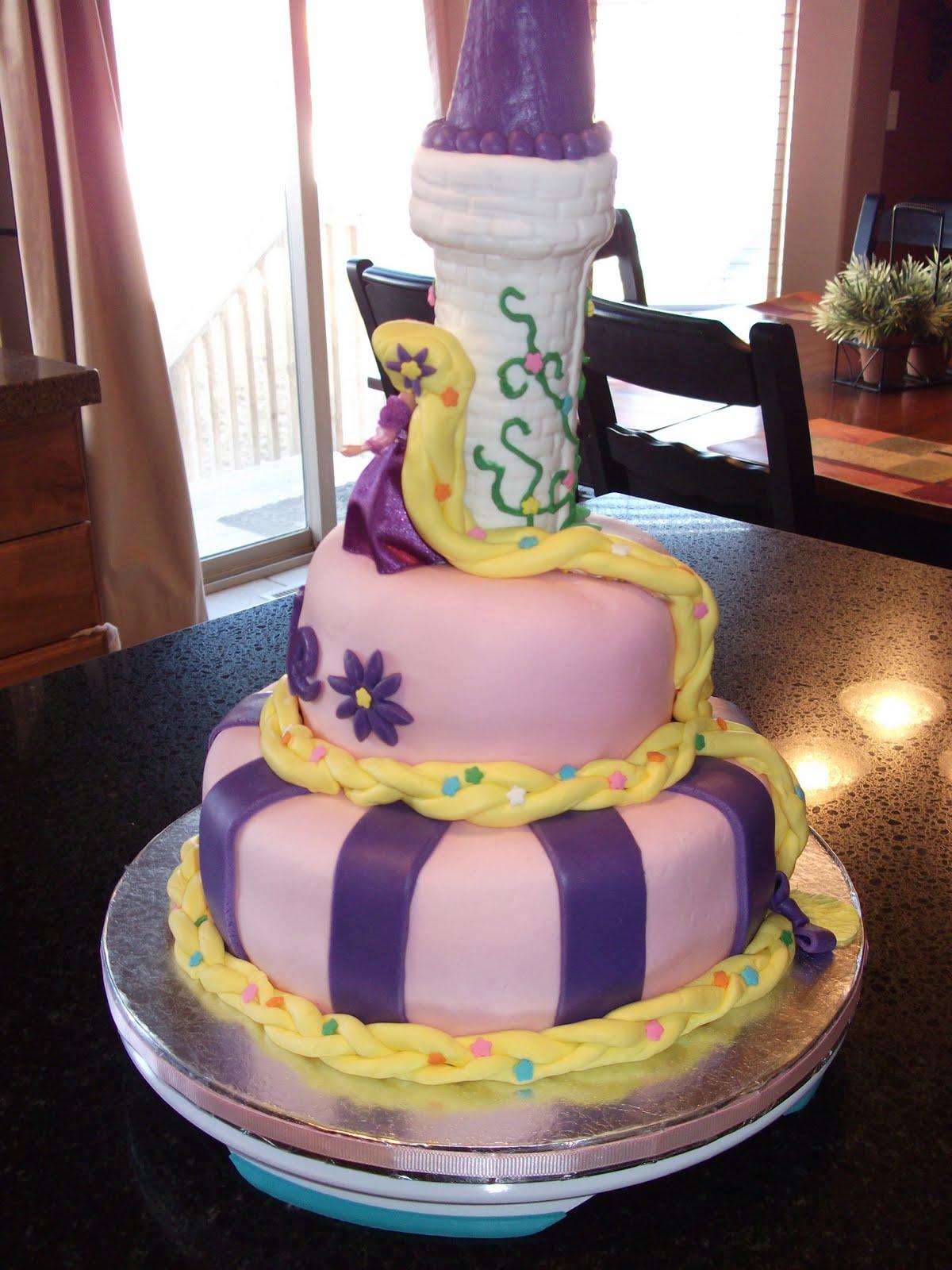 Sarah Lee Cakes Tangled Cake