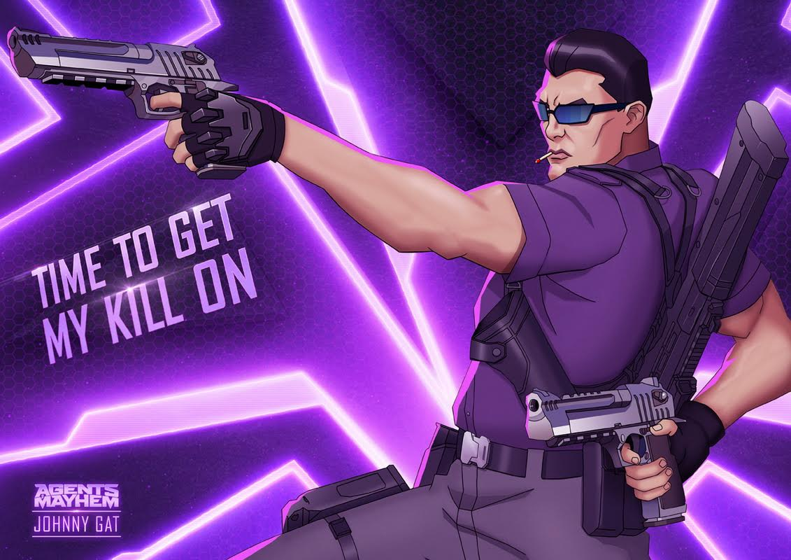 Johnny Gat vuelve con Agents of Mayhem