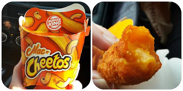 Burger King's new Mac n' Cheetos