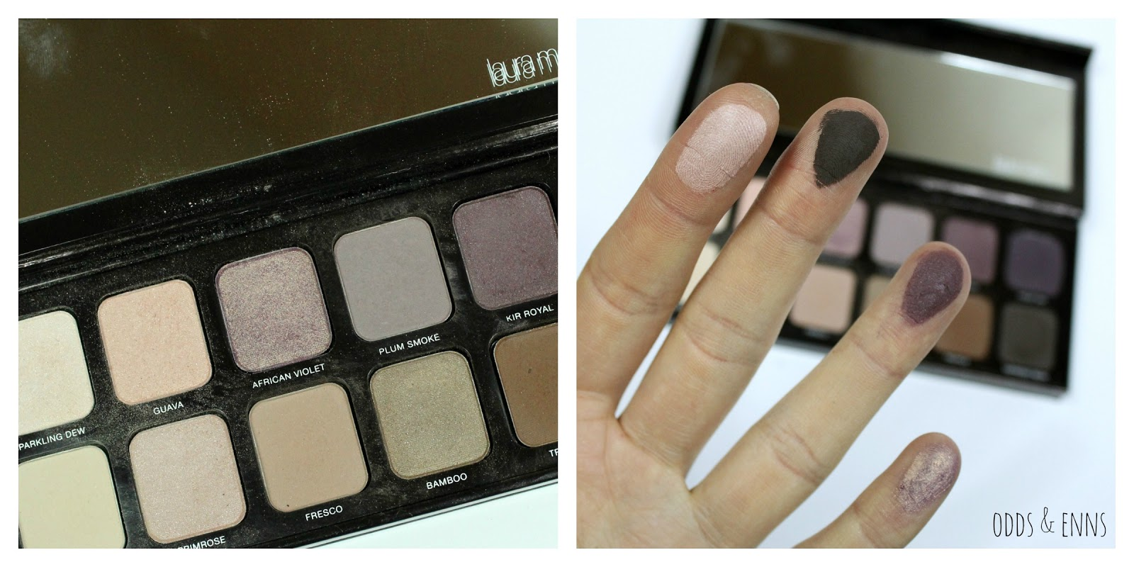 Laura Mercier Eye Art Artist's Palette Review