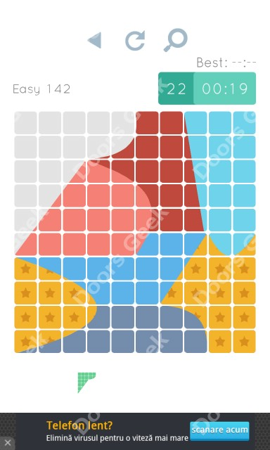 Cheats, Walkthrough for Blocks and Shapes Level 142