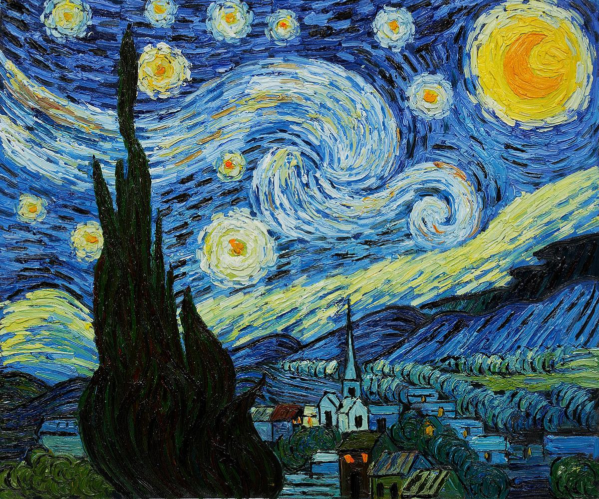 Starry Night Van Gogh Quotes. QuotesGram