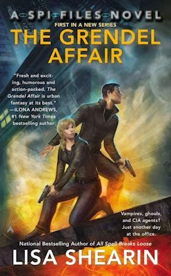 Interview with Lisa Shearin, author of The Grendel Affair and more - January 6, 2014