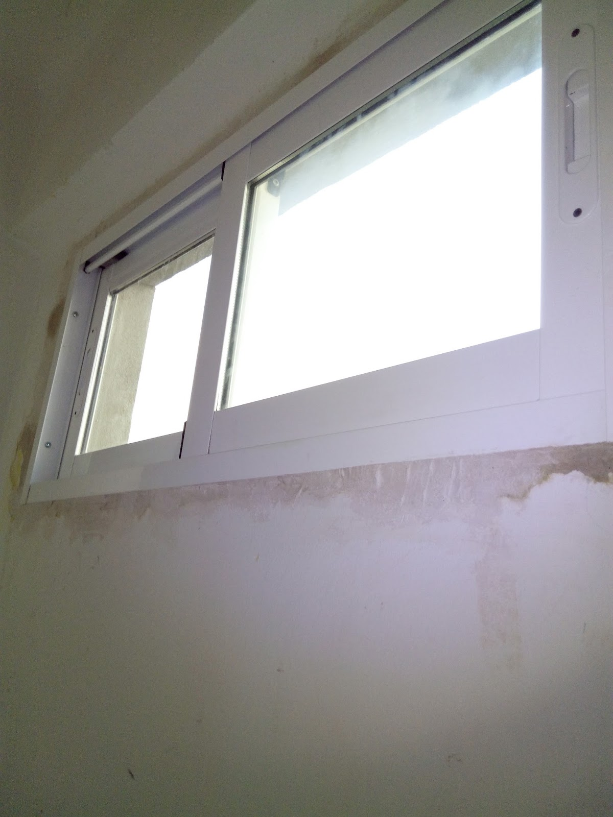 Eltallerdecarlos instalar ventana de aluminio 1 colocar - Instalar ventana aluminio ...
