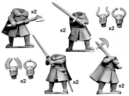 Wargame News and Terrain: Crusader Miniatures: Dismounted