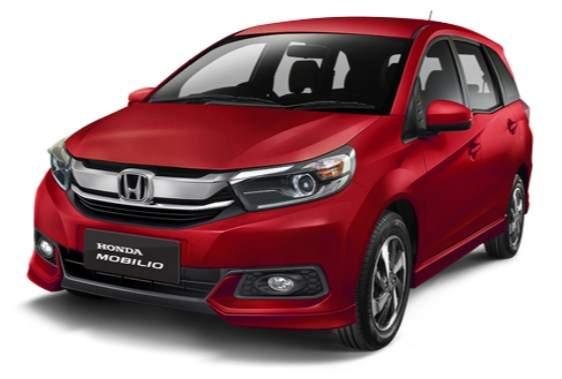 New Honda Mobilio Facelift 2019 Coffee Cherry Red Metallic