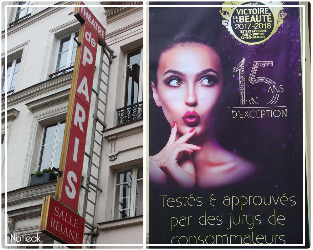 Théâtre de Paris reçoit les Victoires de la beauté