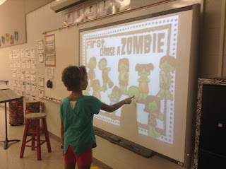 Students vs. Zombies: A fun game for your music class. Blog post also includes other activities for your music lessons!